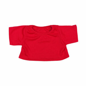 Berefijn - Teddy Mountain - Lier - kleding - t-shirt - blouse - rood - build a bear