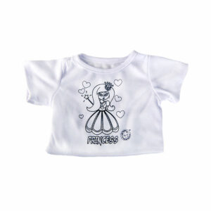 Berefijn - Teddy Mountain - Lier - kleding - t-shirt - blouse - inkleurbaar - textielstift - prinses - princess - build a bear