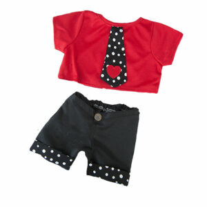 Berefijn - Teddy Mountain - Lier - kleding - broek - t-shirt - love - build a bear