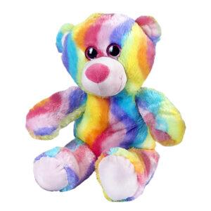 Berefijn knuffeldier Bubbly – teddybeer - Teddy Mountain - Lier- multicolor - glitter - build a bear
