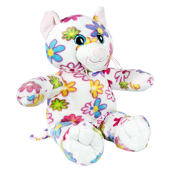 Berefijn knuffeldier Cupcake – teddybeer - Teddy Mountain - Lier- poes - kat - glitter - build a bear
