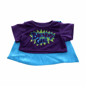 Berefijn - Teddy Mountain - Lier - kleding - t-shirt - blouse - birthday girl - happy birthday - superheld - cape - build a bear
