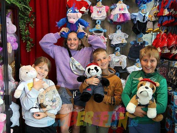 Berefijn knuffeldier – teddybeer - Teddy Mountain - Lier - konijn - varken - panda - bulldog - boer - emoji - smiley - onesie