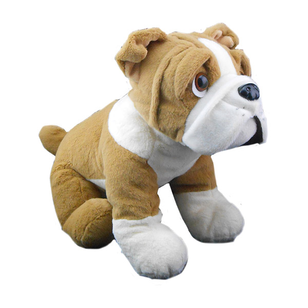 Berefijn knuffeldier Buddy – teddybeer - Teddy Mountain - hond - Lier - buldog - build a bear