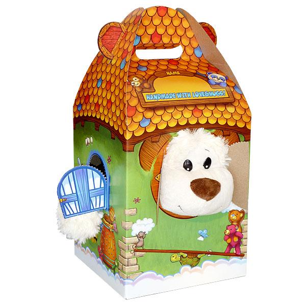 Berefijn - Teddy Mountain - Lier - cadeaudoos - verpakking - cadeautje - beren - knuffelhuis