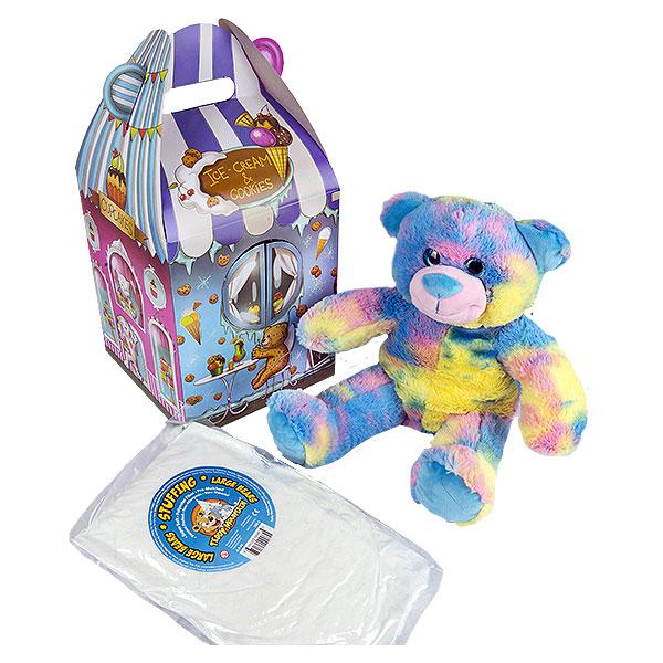 Berefijn - Teddy Mountain - Lier - cadeaudoos - verpakking - cadeautje - beren - snoepwinkel - candy - popcorn - suikerspin - snoepjes