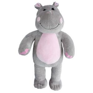 Berefijn knuffeldier Hippo – teddybeer - Teddy Mountain - Lier - nijlpaard - build a bear
