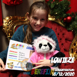 Bamboo – build a bear - teddybeer - Teddy Mountain - Lier - pandabeer - roze jas - rokje - onderbroek - Love