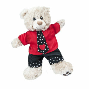 Berefijn - Teddy Mountain - build a bear - Lier - kleding - broek - t-shirt - love