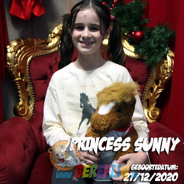 Berefijn knuffeldier Chess – teddybeer - Teddy Mountain - paard - Lier - jurkje - hartjes