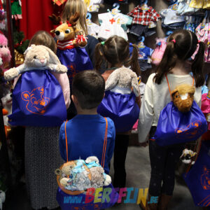 Berefijn - Teddy Mountain - Lier - cadeauzak - verpakking - cadeautje - beren - knuffels