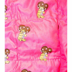 Berefijn - Teddy Mountain - Lier - slaapzak - deken - knuffelbeer - roze - build a bear