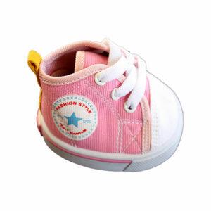 Berefijn - Teddy Mountain - Lier - schoenen - sneaker - sportschoen - roze - all star - veters - build a bear