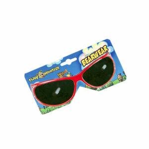 Berefijn - Teddy Mountain - Lier - accessoire - zonnebril - rood - glitters - sunglasses - build a bear