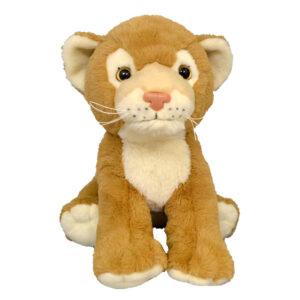 Berefijn knuffeldier Simba – teddybeer - Teddy Mountain - build a bear - Lier - leeuw - welp - leeuwenkoning