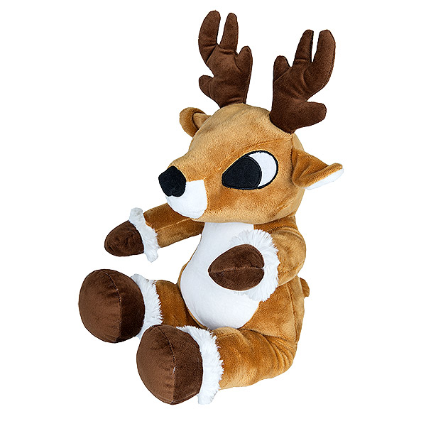 Berefijn knuffeldier donder – build a bear - teddybeer - Teddy Mountain - Lier - rendier - Kerstmis - Kerstman