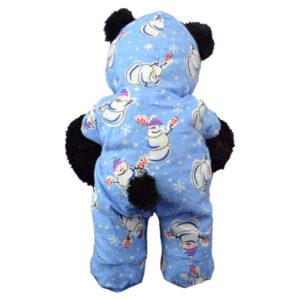 Berefijn - Teddy Mountain - Lier - kleding - slapen - jumpsuit - onesie - snowman - sneeuwman - Kerstmis - pyjama - build a bear