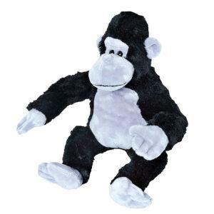 Berefijn knuffeldier sil – teddybeer - Teddy Mountain - build a bear - Lier - zilverrug - aap - gorilla - silverback