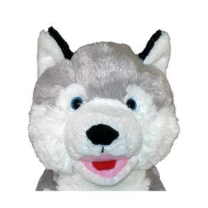 Berefijn knuffeldier snow – build a bear - teddybeer - Teddy Mountain - Lier - husky - hond