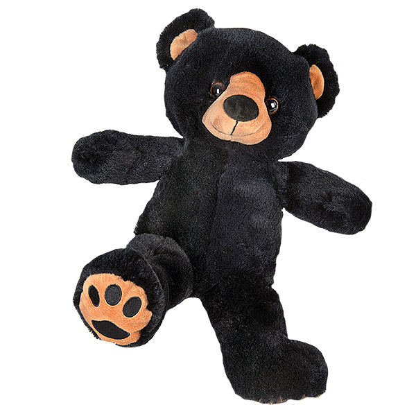 Berefijn knuffeldier Benjamin – build a bear - teddybeer - Teddy Mountain - Lier - beer - zwarte beer - black bear
