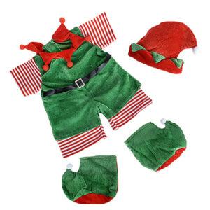 Berefijn - Teddy Mountain - build a bear - Lier - Kerstmis - Kerstman - Kerstelf - elfjes - puntschoenen - puntmuts