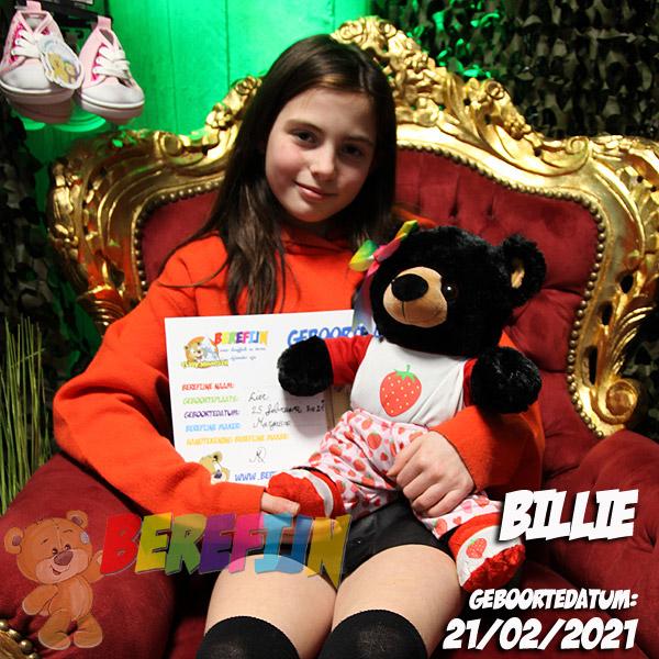 Berefijn knuffeldier Benjamin – build a bear - teddybeer - Teddy Mountain - Lier - beer - black bear - pyjama - Meisje Djamila