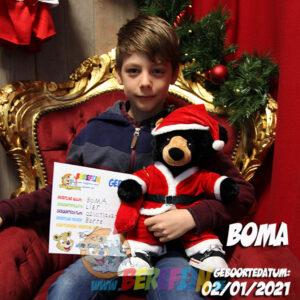 Berefijn knuffeldier Benjamin – build a bear - teddybeer - Teddy Mountain - Lier - beer - zwarte beer - black bear - kerstmis - kerstman