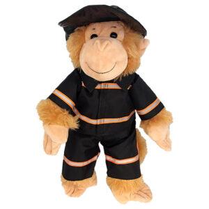 Berefijn - Teddy Mountain - build a bear - Lier - brandweerman - brandweerhelm - fireman
