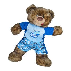 Berefijn - Teddy Mountain - build a bear - Lier - shark - zwembroek - zwemshirt - zwemmen - swimming