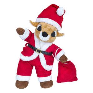 Berefijn - Teddy Mountain - build a bear - Lier - Kerstmis - Kerstman - Kerstmuts - Kerstzak - Rode zak - Rendier