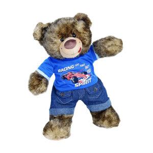 Berefijn - Teddy Mountain - build a bear - Lier - kleding - auto - racewagen - raceteam