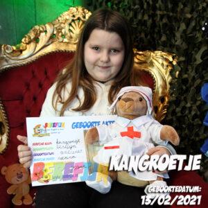 Berefijn knuffeldier Kanga & Roo – teddybeer - Teddy Mountain - Lier - Kangaroe - build a bear - verpleegster - Winnie the pooh