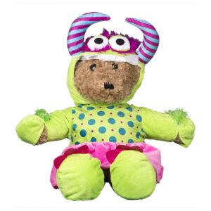 Berefijn - Teddy Mountain - build a bear - Lier - kleding - verkleden - pantoffels - onesie - rokje