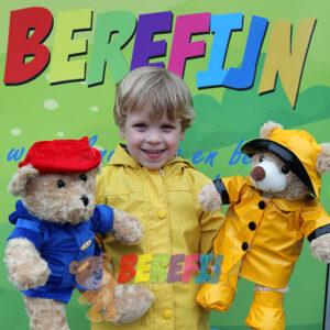 Berefijn - Build a Bear Workshop - maak je eigen knuffelbeer - Paddington - Meisje Djamila - Teddybeer - knuffelbeer - DIY