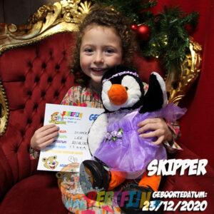 Berefijn knuffeldier Skipper – build a bear - teddybeer - Teddy Mountain - Lier - pinguin - madagascar - pingu - antartica
