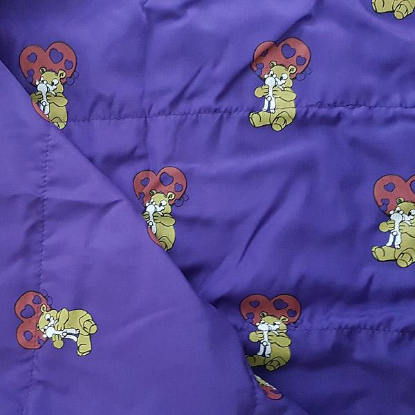 Berefijn - Teddy Mountain - Lier - slaapzak - deken - knuffelbeer - paars - build a bear