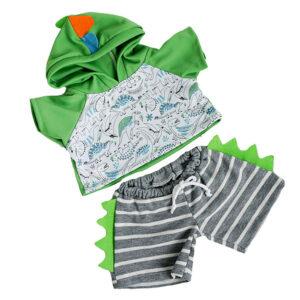 Berefijn - Teddy Mountain - Lier - hoodie - dinosaurus - kleding - build a bear - jogging - pyjama