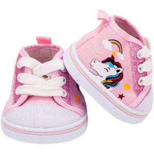 Berefijn - Teddy Mountain - Lier - schoenen - sneaker - sportschoen - roze - all star - veters - build a bear - unicorn