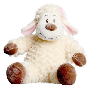 Berefijn knuffeldier Pluis – teddybeer - Teddy Mountain - Lier - build a bear - cuddles & friends - schaapje - lammetje