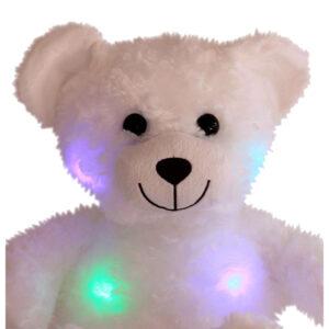 Berefijn knuffeldier Glowy – teddybeer - Teddy Mountain - Lier - build a bear - Cuddles & Friends - lichtgevende knuffel