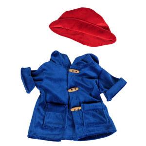 Berefijn - Teddy Mountain - Lier - kleding - build a bear - cuddles & friends - Paddington - rode hoed