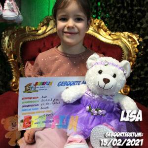 Berefijn knuffeldier Glowy – teddybeer - Teddy Mountain - Lier - build a bear - Cuddles & Friends - lichtgevende knuffel - ballerina