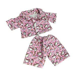 Berefijn - Teddy Mountain - Lier - build a bear workshop - Meisje Djamila - cuddles - unicorn - pyjama - eenhoorn - regenboog