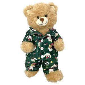 Berefijn - Teddy Mountain - build a bear - Lier - Kerstmis - Kerstman - Rendier - pyjama - kerstboom